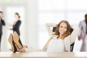 kobieta w pracy